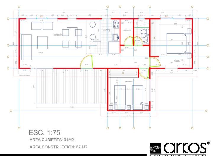 Residencia Contempor Nea Americana Arquitectura De Casas